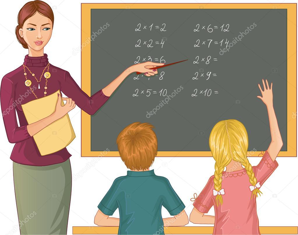 Ученица дает учителю 12 фотография