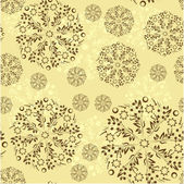 Floral vector seamless pattern, eps10 — Stock Vector