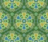 Seamless ornamental vector pattern — Stock Vector