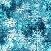 Fundo transparente com flocos de neve, eps10 — Vetorial Stock