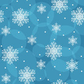 Seamless background with snowflakes, eps10 — Stock Vector