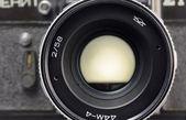Gammal filmkamera — Stockfoto