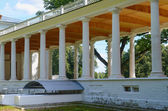 Old mansion with columns — Stock Photo