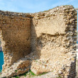 The remains of the old fortress in Balaklava — Stock Photo