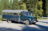 Long truck — Stock fotografie