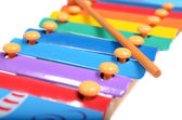 Children's xylophone — Stock Photo