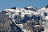 Monte Rosa glaciers — Stock Photo