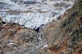 Monte Rosa glaciers — Stock Photo