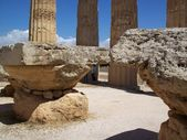 Valley of the Temples Agrigento Italy — Stock Photo