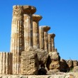 Valley of the Temples Agrigento Italy - Stock Photo
