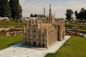 The most famous building in the city of Italy - Duomo Milano — Stock Photo
