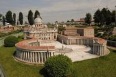 The most famous building in the city of Italy - San Pietro Roma — Stock Photo