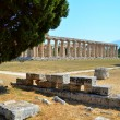 Greek temples of Paestum — Foto Stock