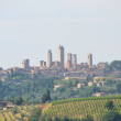 Beautiful city,  San Gimignano, Tuscany  Italy  — Stock Photo