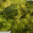 Stock Photo: Ripe Broccoli Cabbage, steamed, with olive oil