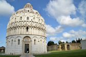 Baptistery of St. John - Square of Miracles - (Pisa) — Foto Stock