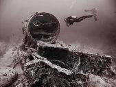 S.S. Thistlegorm Wreck — Стоковое фото