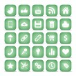 Communication icons. Web set Internet collection. — Stock Vector