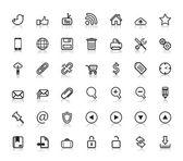 Social Web Icons — Stock Vector
