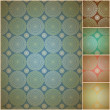 Seamless geometric background wall paper - Stock Vector