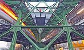 Wuppertal overhead railway — Stockfoto