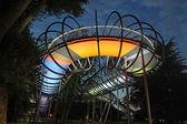 Slinky bridge in Oberhausen — Stock Photo
