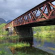 Old Railway bridge at Loch Awe — Stock Photo