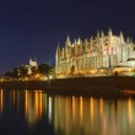 Cathedral La Seu — Stock Photo