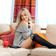 Attractive woman relaxing — Stock Photo #19676733
