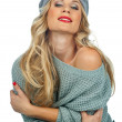 Beautiful blond woman — Stock Photo #19677711