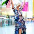 Woman shopping — Stock Photo #19679349
