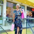 Woman in shopping — Stock Photo #19679579