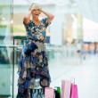 Woman in shopping mall — Stock Photo #19679769