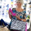 Woman shopping shoes — Stock Photo #19679951