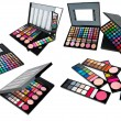 Professional make up set - Stock Photo