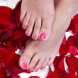 Stock Photo: Womfeet