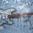 Ice guitar — Stockfoto