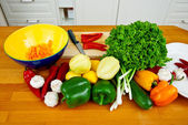 Vegetables on the table — Stock Photo