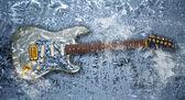Chitarra di ghiaccio — Foto Stock