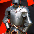 medieval knight armor — Stock Photo
