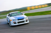 Racing car drift — Stock Photo