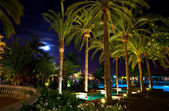 Luxury vacation resort — Stock Photo