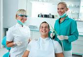 Scene in dentist office — Stock Photo