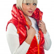 Stockfoto: Womin winter clothes