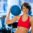 Woman in gym — Stock Photo #19724273