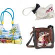 Beach handbags — Stock Photo