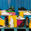 Various shoes - Stockfoto