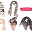 Women scarves — Stock Photo