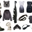 Stockfoto: Collection of womclothes