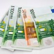 Stock Photo: Euro banknote